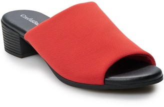 Croft & Barrow Kiosk Women's Ortholite Stretch Fabric Slide Sandals