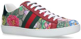 Gucci GG Supreme Flora Ace Sneakers
