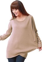 Sweet Mommy Maternity and Nursing Organic Cotton Drape Front Sweater FBE
