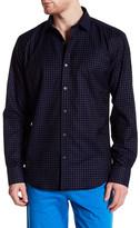 Bugatchi Velvet Long Sleeve Shaped Fit Shirt