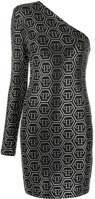 Philipp Plein all-over PP dress