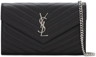 Saint Laurent Md Monogram Quilted Leather Bag