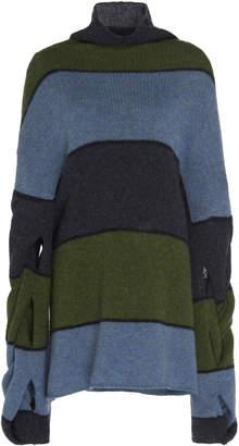 J.W.Anderson Oversized Striped Turtleneck Sweater Size: S