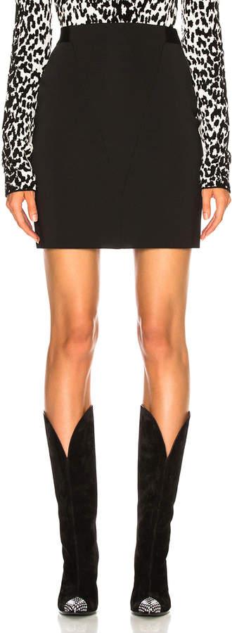 Givenchy Knit Seamed Mini Skirt