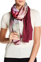 Ted Baker Pure Peony Split Silk Scarf
