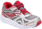 Saucony Boys' Baby Ride 9 Leather-Trim Sneaker