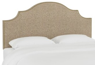 Skyline Furniture Arc Queen Upholstered Panel Headboard