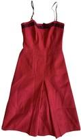 Prada Red Wool Dress for Women