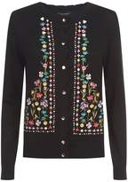 Ted Baker Sisili Embroidered Floral Cardigan