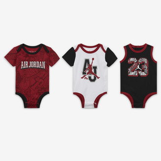 Nike Baby (0-9M) Bodysuit Set (3-Pack) Jordan