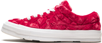 Converse One Star Ox 'Quilted Velvet' Shoes - Size 4