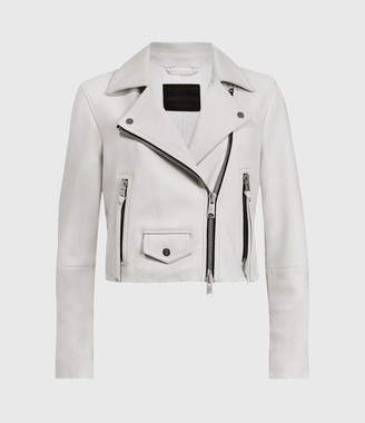 AllSaints Elora Leather Biker Jacket