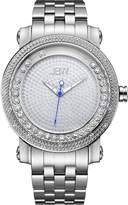 JBW J6338A Hendrix Japanese-Quartz Movement 20 Diamond Stainless Steel Men's Wrist Watch