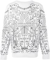 Marcelo Burlon County of Milan 'Salomon' sweatshirt - men - Cotton - S