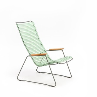 Ecc Lighting & Furniture Click Outdoor Lounge Chair Dusty Light Green