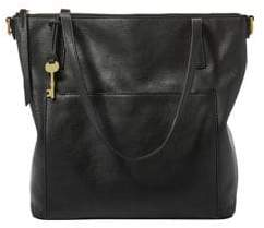 Fossil Medium Evelyn Leather Tote