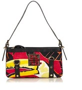 Givenchy Pre-owned: Printed Canvas Shoulder Bag.