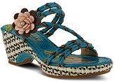 L'Artiste by Spring Step Women's Bellisimo-Tq Wedge Sandal