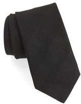 John Varvatos Men's Check Weave Tie