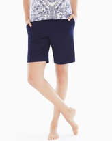 Soma Intimates Bermuda Pajama Shorts Navy