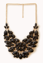 Forever 21 Glam Out Bib Necklace