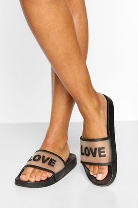 boohoo Love Slogan Slider
