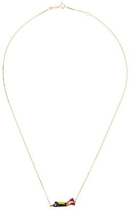ALIITA 9kt yellow gold Sub necklace