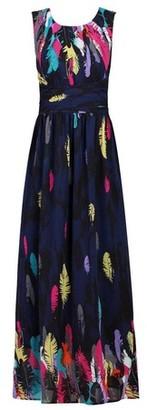 Dorothy Perkins Womens *Jolie Moi Navy Pattern Chiffon Dress, Navy