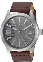 Diesel Men's Rasp DZ1802 Brown Leather Quartz Fashion Watch