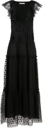 Philosophy di Lorenzo Serafini Tiered Tulle Dress