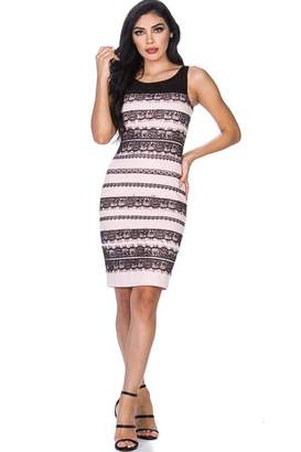 Leshop Laced Detailed Bodycon