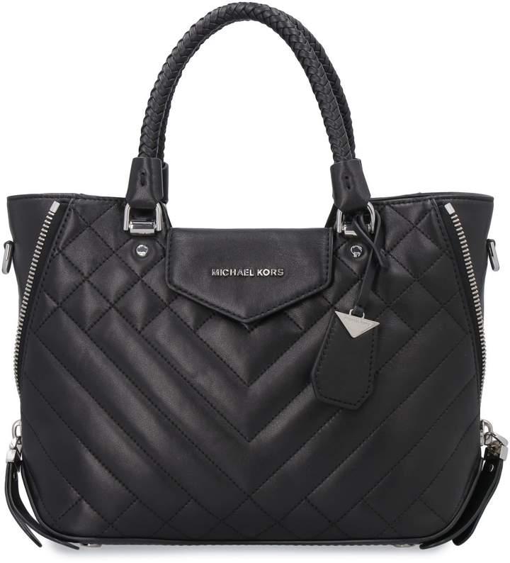 0c8f4d42c870f3 Michael Kors Black Tote Bags - ShopStyle