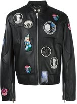 Versace astronaut patch jacket