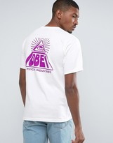 Obey T-shirt With Psychic Back Print