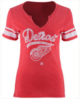 Majestic Women's Detroit Red Wings Tag Up T-Shirt