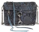Rebecca Minkoff Mini MAC Sunday Convertible Crossbody Bag - Blue