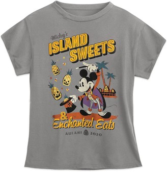 Disney Mickey Mouse ''Island Sweets and Enchanted Eats'' T-Shirt for Kids Aulani, A Resort & Spa