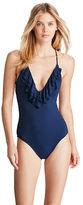 Polo Ralph Lauren Scoop-Back One-Piece Swimsuit