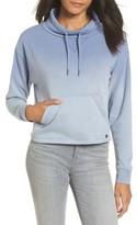 RVCA Women's Smudged Crop Funnel Neck Sweatshirt