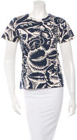 Marc Jacobs Floral Short Sleeve T-Shirt