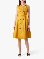 Hobbs Sabina Dress, Yellow
