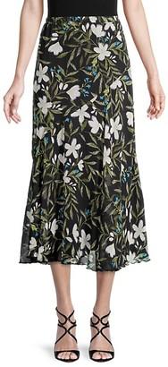 Supply & Demand Joslyn Long Floral Skirt