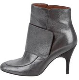 Lanvin Metallic Ankle Boots