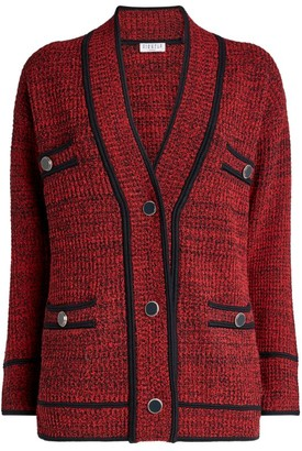 Claudie Pierlot Boucle Long Cardigan