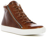 Kenneth Cole Reaction Good Vibe Snake-Embossed High-Top Sneaker
