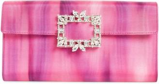 Roger Vivier Brooch Envelope Clutch