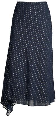 Mestiza New York Aurora Rosio Fil Coupe Asymmetric Midi Skirt