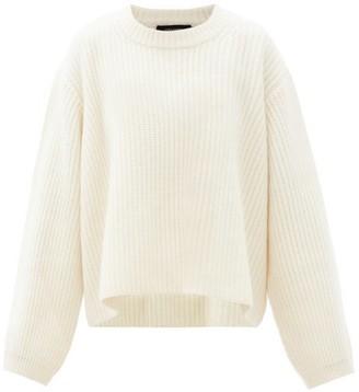 Lisa Yang - Vera Ribbed-cashmere Sweater - Cream