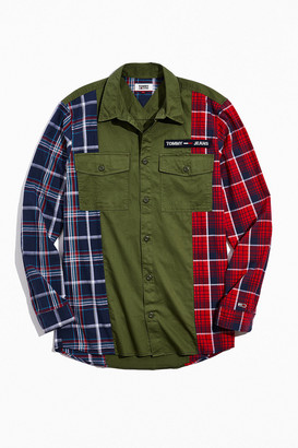 Tommy Hilfiger Pieced Button-Down Shirt