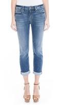 Level 99 Women's Lily Stretch Distressed Crop Cuff Jeans